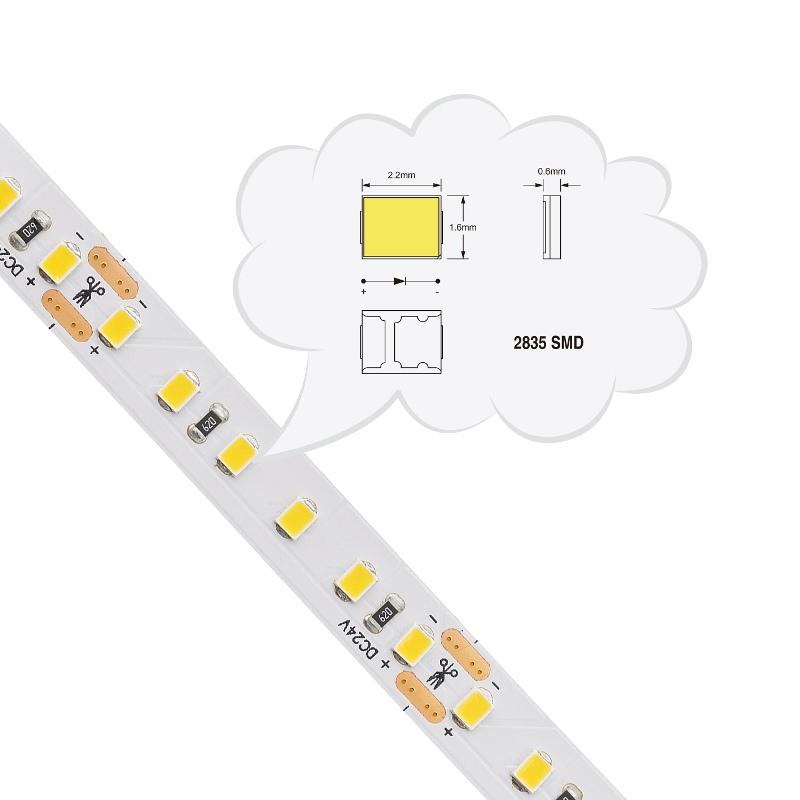 SMD2835 LED Flexible Strip 120LEDs