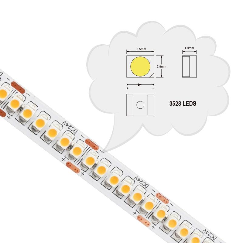 SMD3528 LED Flexible Strip 240LEDs